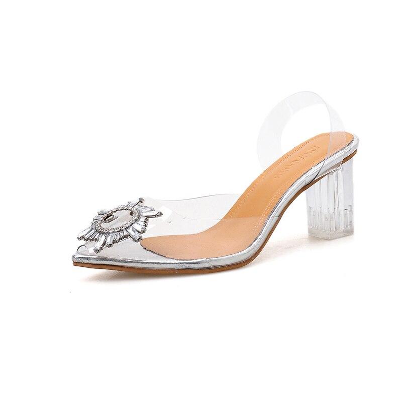 Купить обувь на высоком каблуке 2020 модная обувь новый стиль универсальная