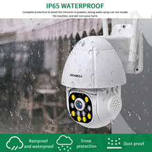 1.5 Inch Mini Wifi Camera Cloud 1080P HD PTZ Speed Dome 4X Surveillance  Auto Tracking Outdoor Wireless Digital Kamera Wifi