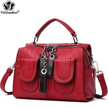 купить Fashion Many Pockets Small Backpacks for Girls Cute Mini Leather Backpack Women Large Capacity Shoulder Women Backpack Sac A Dos по цене 1301.32 рублей