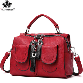Fashion Many Pockets Small Backpacks for Girls Cute Mini Leather Backpack Women Large Capacity Shoulder Women Backpack Sac A Dos hd19368 restoring ancient belt decoration many pockets leather bag women large capacity leather backpack