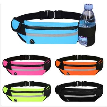 Waist Bag Belt Bag Running Waist Bag Sports Portable Gym Bag Hold Water Cycling Phone Bag Waterproof Women Running Belt 1