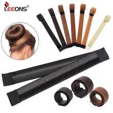 Дешевые щипцы для укладки волос Leeons, щипцы для пучка волос для элегантных женщин, волшебные заколки для пучка, инструмент для укладки волос