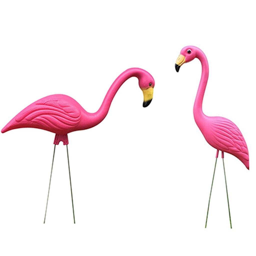 2 figuritas de plástico de flamenco rosa para césped, decoración decorativa para fiestas de jardín, manualidades DIY Sandalias Croc zuecos de verano para mujer, sandalias de jardín con plataforma, zapatillas de Fruta de dibujos animados, zapatillas para niña, zapatos de playa, toboganes de moda al aire libre
