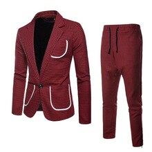 2 piece suits Grey checked suit, gentleman suit, men's suit, red checked suit, swallow tail suit, men's checked suit suit wessi suit