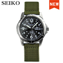 Seiko-Reloj solar para hombre, deportivo, resistente al agua, masculino, SNE095P2