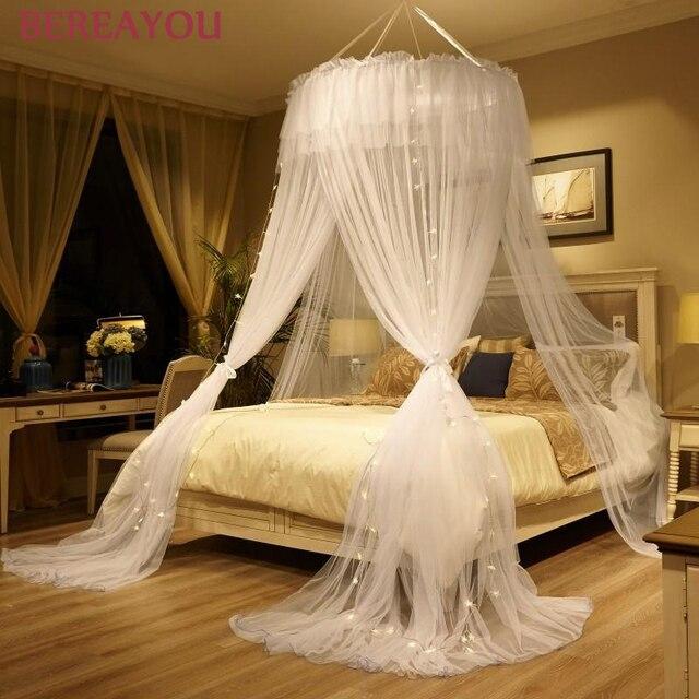 الشمال ناموسية السرير قبة معلقة السرير الستار مشفرة الأميرة البعوض خيمة سريرية للأطفال غرفة الأطفال ديكور moustiquaire 1