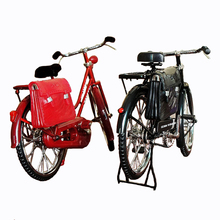 Creative artificial vintage bicycle home decoration accessories men s bicycle handmade metal decoration retro room decoration