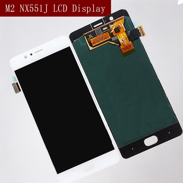 Original for ZTE Nubia M2 NX551J LCD Display Touch Screen Digitizer For ZTE Nubia M2 Display Assembly Replacement Screen LCD(China)