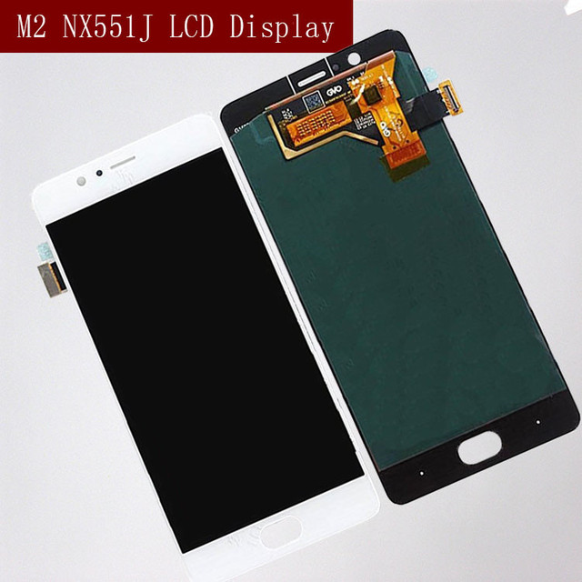 Original for ZTE Nubia M2 NX551J LCD Display Touch Screen Digitizer For ZTE Nubia M2 Display Assembly Replacement Screen LCD