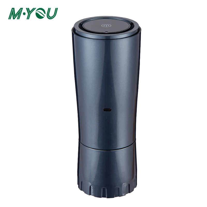 Air Purifier For Car UV Air Recirculator Formaldehyde Odor Filter Deodorization Portable Negative Ion Cleaner Air Sterilizer