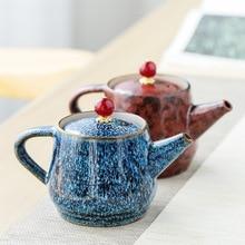 Chinese Kung Fu Tea Set Ceramic Teapots Porcelain Pot Kettle Teaware Decorations Present Gift Drinkware Accessories