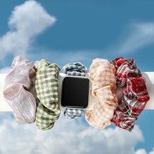 Ремешок эластичная резинка для волос apple watch band 38 мм/40