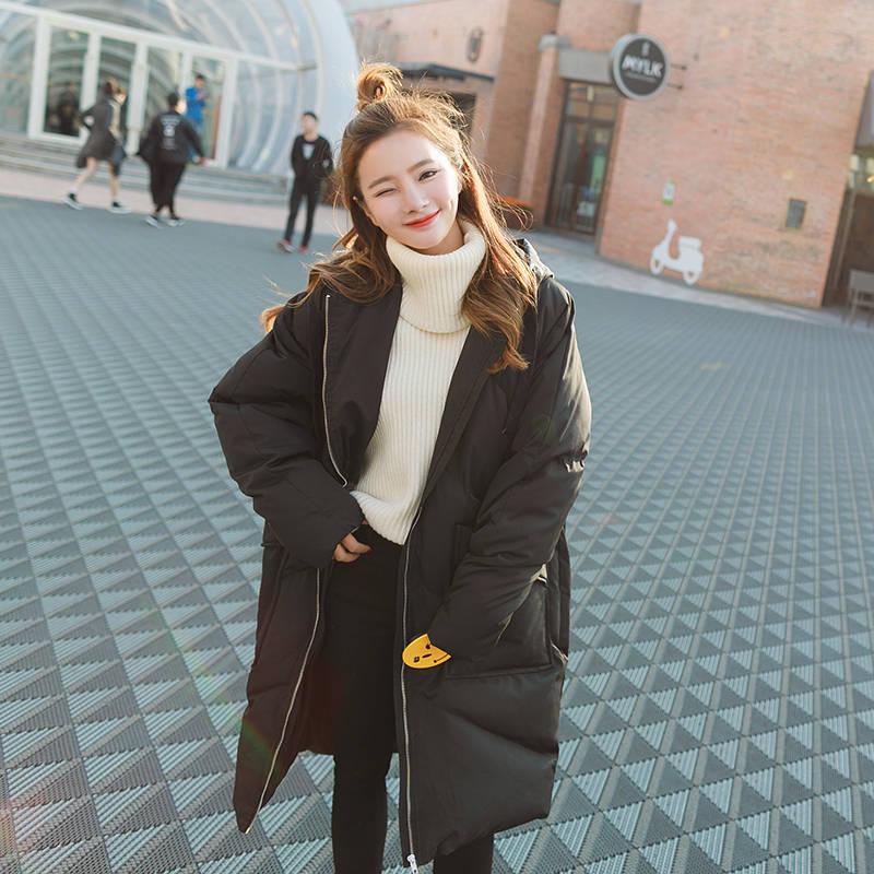 Пуховая куртка с хлопковой подкладкой для женщин размера плюс, Зимняя женская куртка с капюшоном, женские зимние пальто, парки, плотное теплое пальто для женщин C5950 - 5