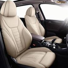 FUZHKAQI Personalizado Couro tampa de assento do carro Para ROEWE 550 350 360 750 950 W5 E50 E950 E550 RX5 i6 ei6 RX3 ei5 RX8 i5 tampa de assento carros
