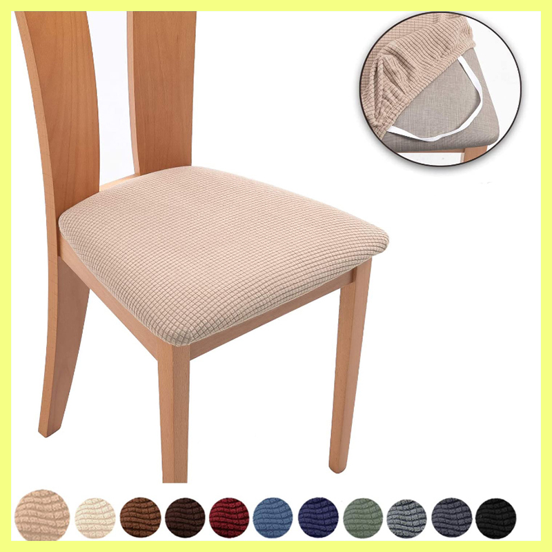 Capa de almofada de cadeira de escritório para casa capa de almofada personalizada anti-incrustação capa de meia seção universal cadeira tampa de fezes divisão.
