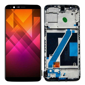 LCD Display Screen Module Assembly Replacement For ONEPLUS 5T A5010 Replacement LCD Display Touch Screen Digitizer Black Frame high quality black lcd display digitizer touch screen tp glass assembly with frame for lenovo a828t phone replacement parts