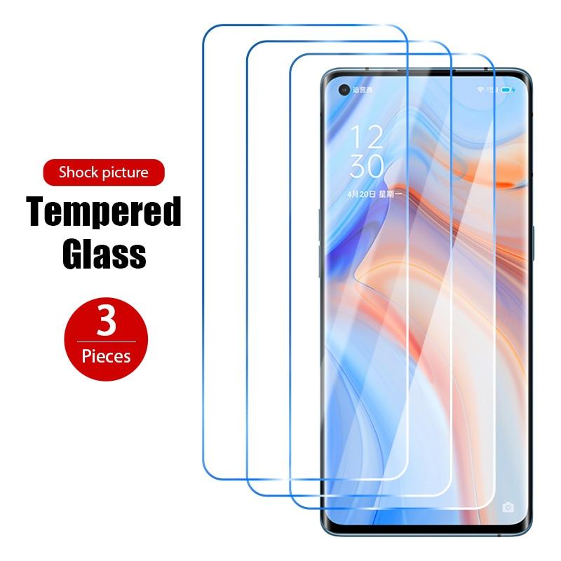 Закаленное стекло для OPPO A9 2020 A9X A8 A7 A7X Hard 9H, 1 шт./3 шт., Защита экрана для OPPO A12 A12e A3 A5X A5 2020, защитная пленка HD