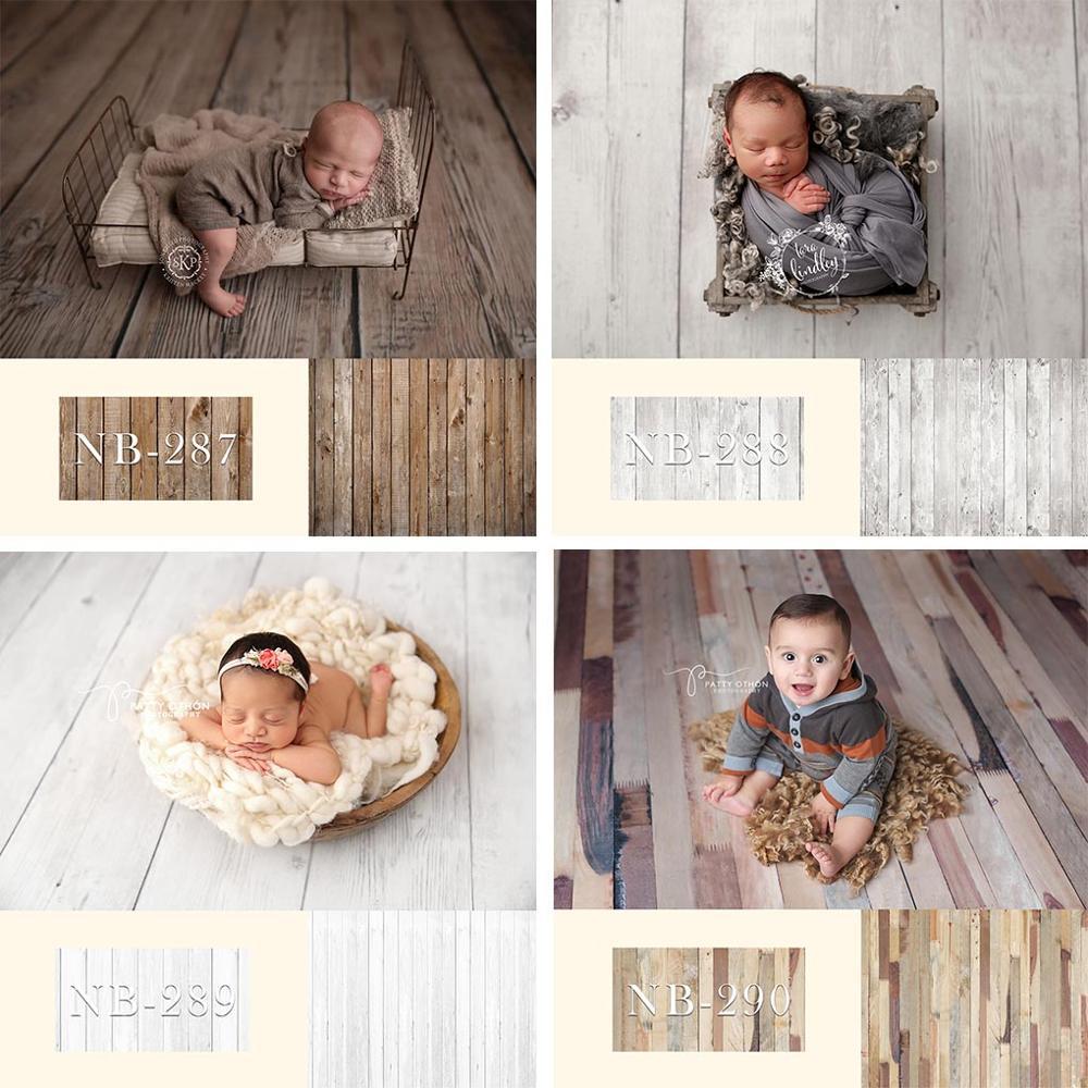 Avezano Wood Floor Board Photography Background Brown Vintage Cake Newborn Baby Portrait Backdrop Photo Studio Photocall Props