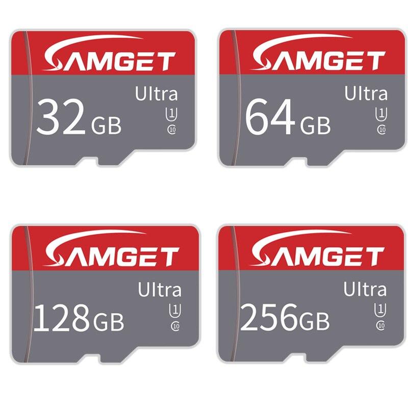 Ad alta velocità Micro SD Card 8GB 16GB 32GB 64GB128GB 256GB Scheda di Memoria MicroSD C10 carta di TF cartao de memoria per macchina fotografica del telefono
