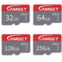 Tarjeta Micro SD de alta velocidad 8GB 16GB 32GB 64GB128GB 256GB tarjeta de memoria MicroSD C10 TF tarjeta cartao de memoria para la cámara del teléfono