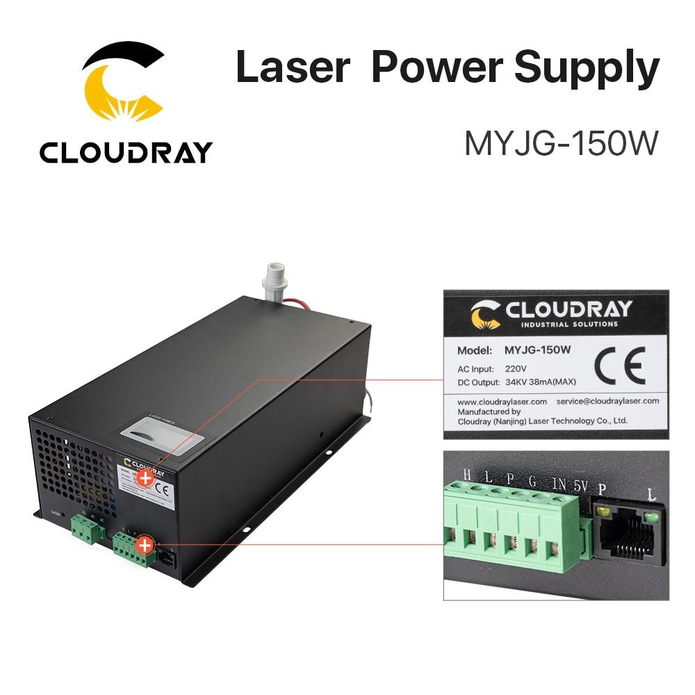 Zasilacz laserowy Cloudray 130-150W CO2 do grawerki laserowej CO2 - Części maszyn do obróbki drewna - Zdjęcie 6
