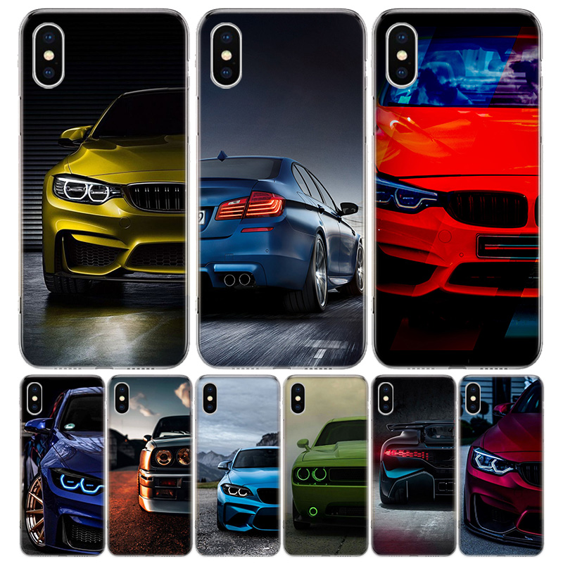 Blue white black For BMW Phone Case for Apple iphone 11 Pro XR X Xs Max 7 8 6 6s Plus 7G 6G 5G 5S 5 SE + Customize Cover Coque image
