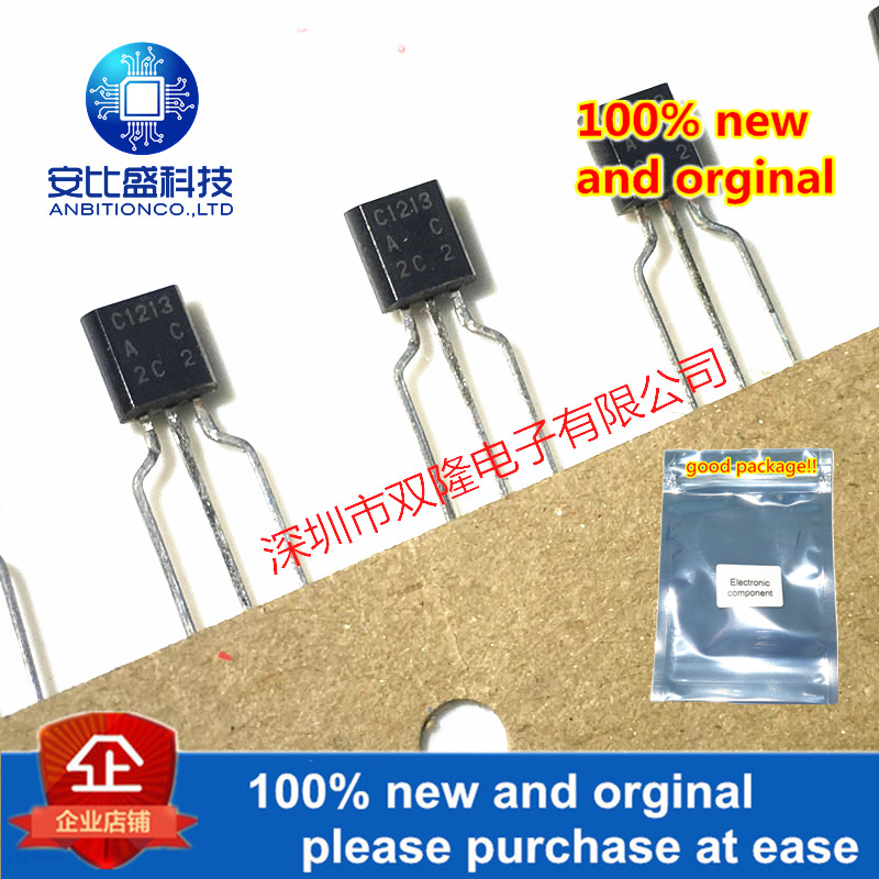 10pcs 100% New And Orginal 2SC1213AC C1213 TO-92  In Stock