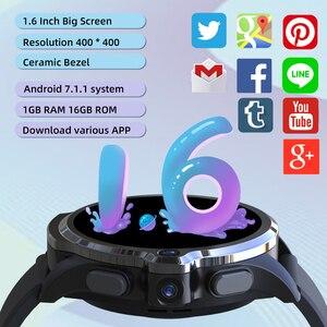 Image 3 - KOSPET PRIME SE 1GB 16GB ساعة ذكية relogio inteligente Men watch الذكية ووتش الرجال 1260mAh كاميرا ID 4G smart watch Android الروبوت wifi Bluetooth GPS Smartwatch 2020 ل Xiaomi Huawei Apple Phone