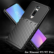 for Xiaomi 9T Pro Case Mi 9T Cover TPU for 9TPro Back Shockproof Housing MOFi Coque 9 T Anti Knock Full Edge Anti Drop Xiomi