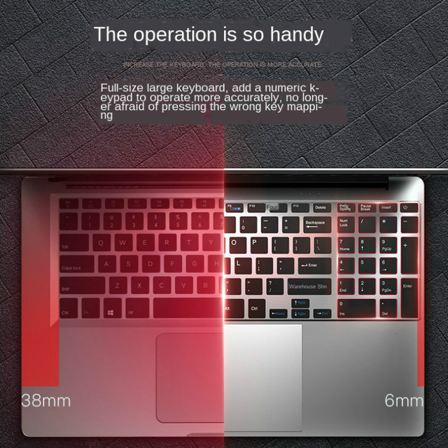 Gaming Laptop Ordenador Portatil Pc Portable 16G 512G GF940M Honor Mcbook Leptop Notebook Gamer Coral Silver Red Laptop i7&J4105