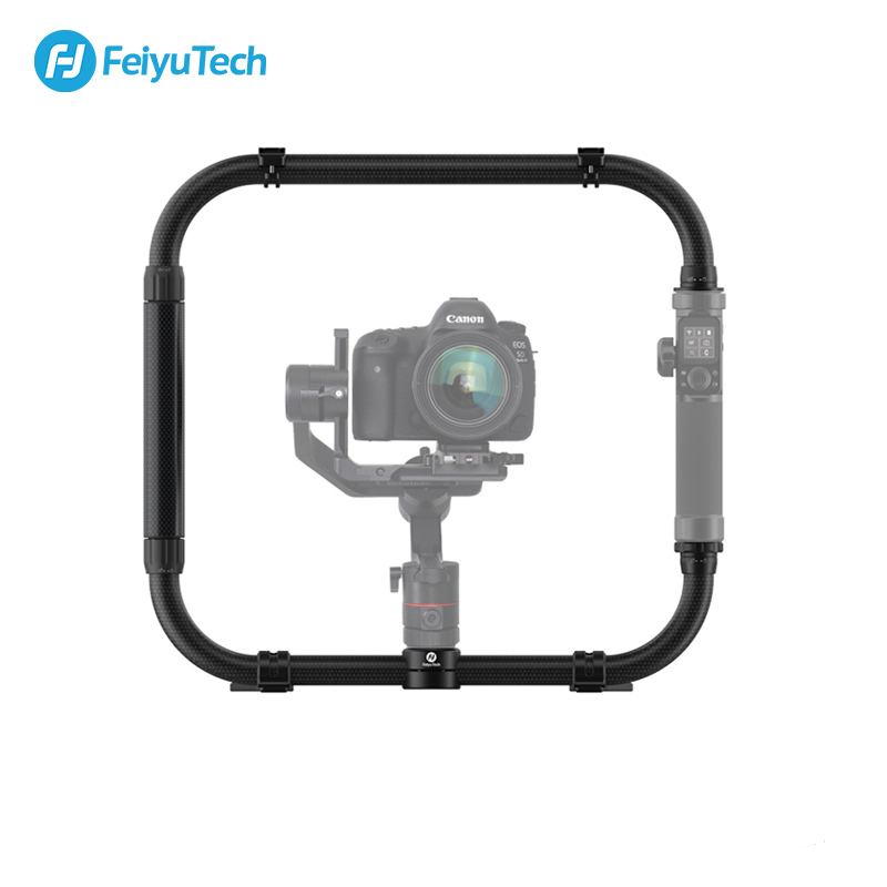 FeiyuTech Official AK Series Dual Handle Grip Foldable Set  Dual Handle Cricle Grip for AK2000 AK4000 DSLR Stabilizer Gimbal