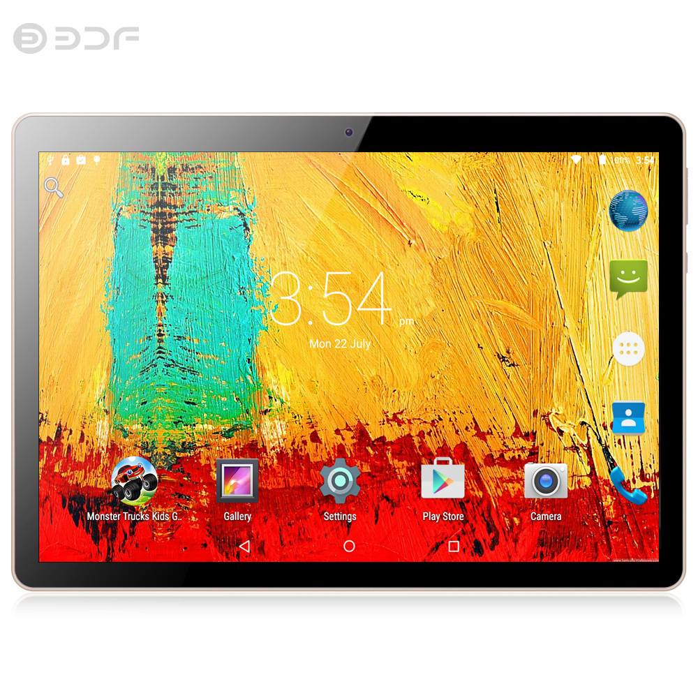 New Original 10.1 Inch Tablets Pc 3G Phone Call 10.1 Tablets 4G+32G Android 7.0 Tab Google Market GPS WiFi FM Bluetooth