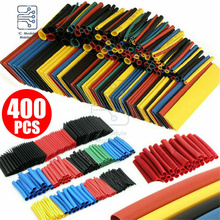 400PCS Polyolefin Heat Shrink Tube Kits Mixed Color 8 sizes 1-14mm 2:1 Heat Shrink Tubing Insulation Shrinkable For Wrap Wire