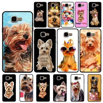 YNDFCNB Yorkshire terrier dog Custom Soft Phone Case for Samsung A6 A8 Plus A7 A9 A20 A20S A30 A30S A40 A50 A70 image