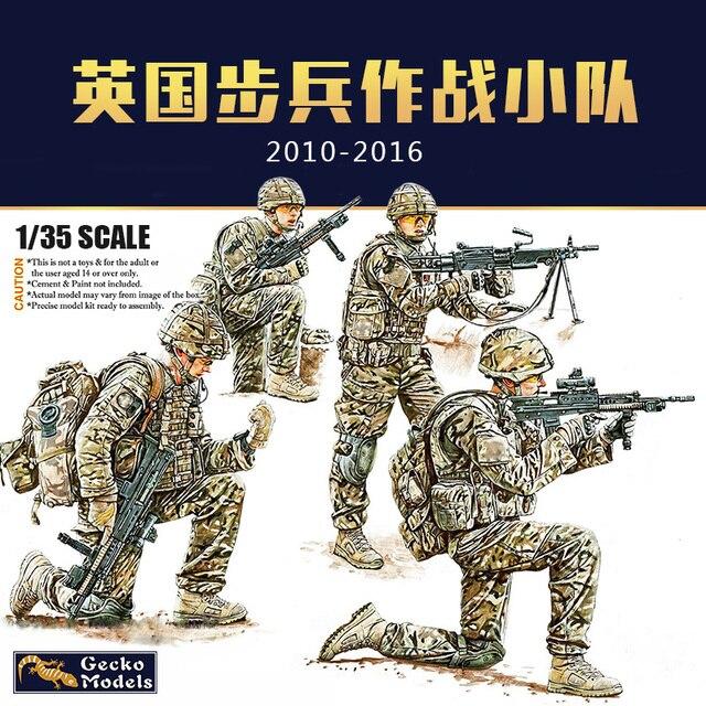 Gecko Models 35GM0015 1/35 British Infantry in Combat Circa 2010 2016 Set1   Scale Model Kit