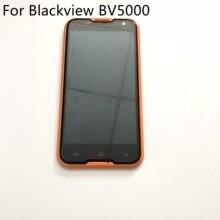 Blackview BV5000 จอแสดงผล LCD + หน้าจอสัมผัส + กรอบใช้ต้นฉบับซ่อมเปลี่ยนอุปกรณ์เสริมสำหรับ Blackview BV5000 ฟรีเรือ
