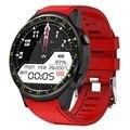 Gps Смарт-часы для мужчин с sim-картой F1 смарт-часы Датчик сердечного ритма спортивный телефон подключенные Часы Android IOS часы красный