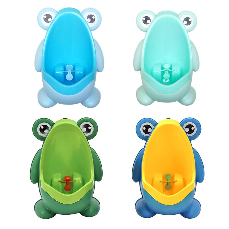 Cute Frog Shape Children Kids Potty Training Urinal For Boys Removable Toilet Pe CORB