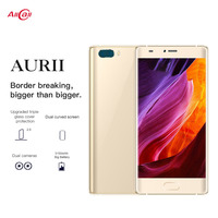 Original AURII RAM 1GB ROM 16GB Smartphone Dual Back Cameras 5.5'' Android 7.1 MTK6580A Quad Core OTG Dual SIM Mobile Phone