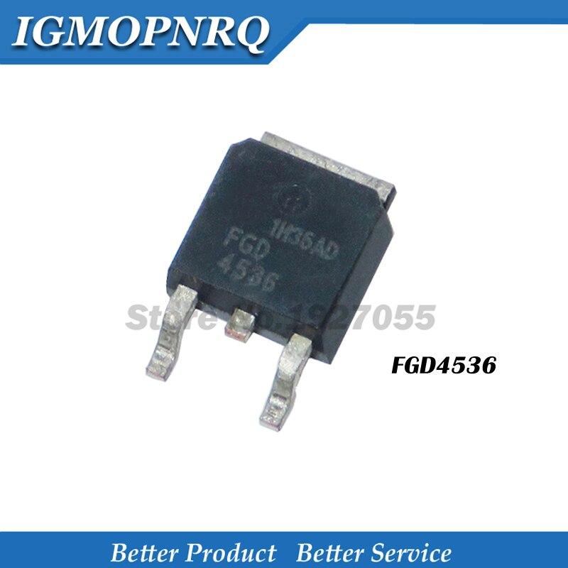 10pcs FGD4536 TO-252 D4536TM TO252 GD4536 4536 SMD New Original