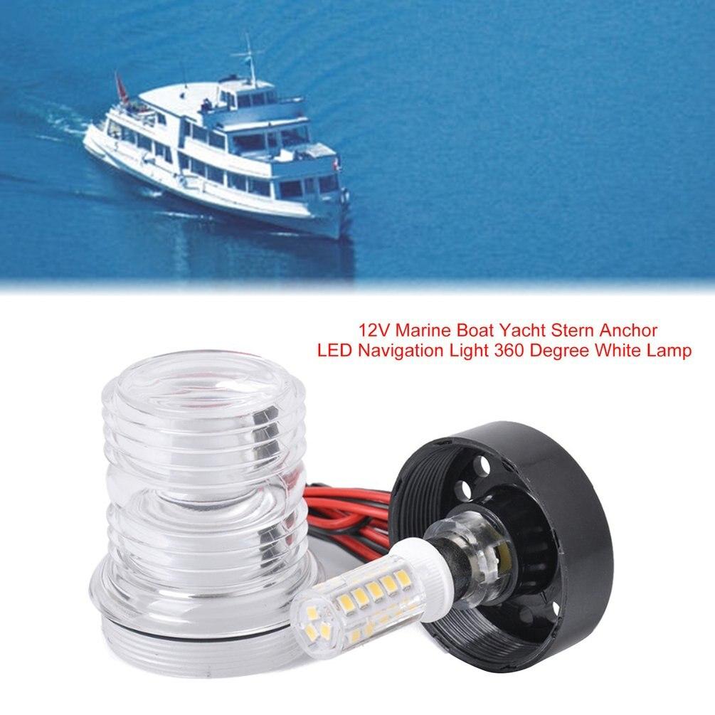 Five Oceans Marine Boat All Round Anchor 360 Degree LED Daylight White Navigation Light 12V FO-3838