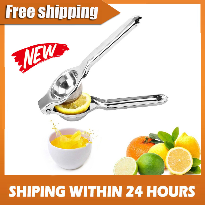 Multifunctional Mini Stainless Steel Lemon Orange Squeezer Juicer Hand Citrus Juicer Press Squeeze Vegetable juice Tools|Manual Juicers|   - AliExpress