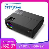Everycom-proyector LED Multimedia M9 CL770, dispositivo de cine en casa, Full HD, 1080P, 6800 lúmenes, HDMI * 2