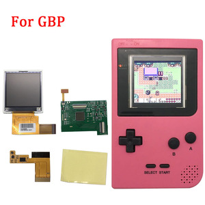 Image 2 - Replacement LCD Screen Kits for GBP Screen Backlight with ribbon cable for Nintend GBP LCD Screen High Light Gamepad Console NEW