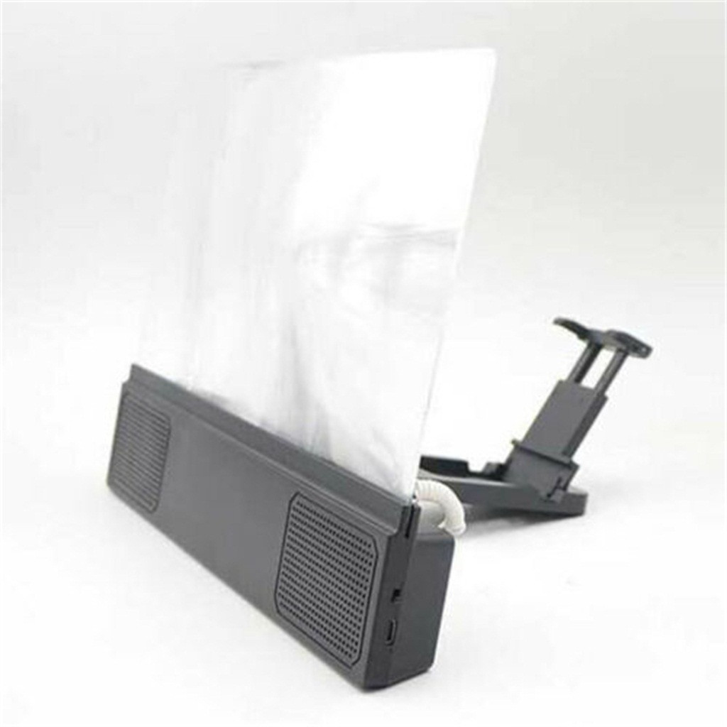 Mobile Phone Screen Amplifier Audio Support High-definition Acrylic Lens Screen