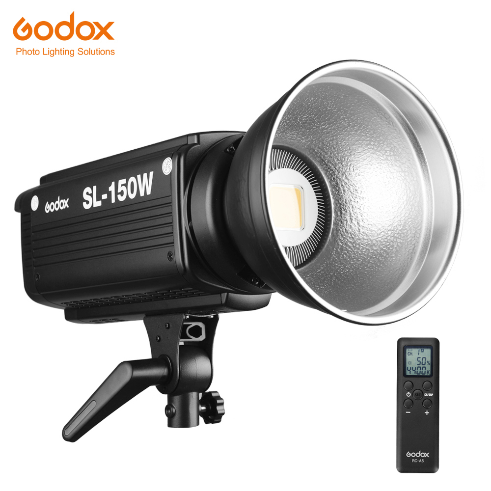 Free DHL Godox SL-150W 150WS 5600K White Version LCD Panel LED Video Light Continuous Output Bowens Mount Studio Light