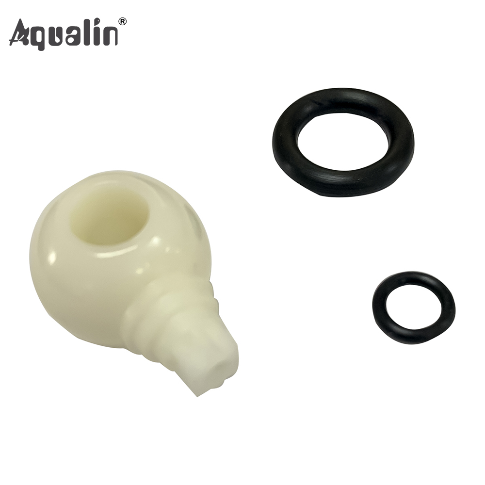 Fix Ball Valve Accessories Ball With Rubber Rings