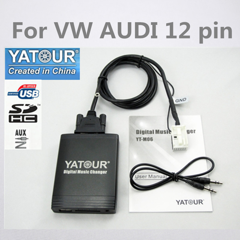 Bluetooth adaptador de audio para audi Concert Chorus skoda swing VW RCD 210 310