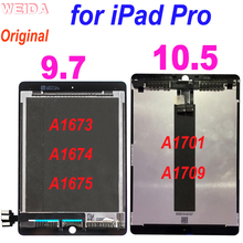 Original LCD for iPad Pro 10.5 A1701 A1709 LCD Display Touch Screen Digitizer Assembly for iPad Pro 9.7 2016 A1673 A1674 A1675