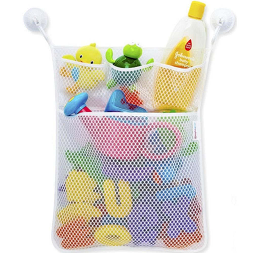 Детская сумка для хранения игрушек для ванной с присосками Сетчатая Сумка для игрушек детские игрушки Органайзер держатель детские игрушк...